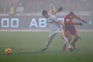 «Спартак» вырвал победу у «Арсенала» на заснеженном поле