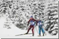 Российские биатлонисты выиграли Рождественскую гонку