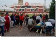 Футболисты зарезали быка на стадионе ради победы