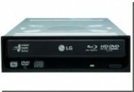 LG анонсировала оптический привод, поддерживающий Blu-ray и HD DVD