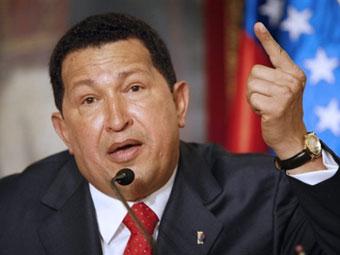 Чавес вновь попытается договориться с колумбийскими повстанцами