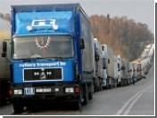 На польской границе выстроилась очередь в 60 километров