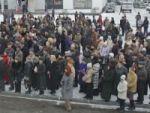 Митинг в поддержку антикризисных мер правительства РФ прошел в Приамурье