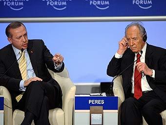 Шимон Перес не извинялся перед турецким премьером