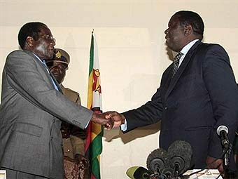 Зимбабвийская оппозиция примирилась с Мугабе