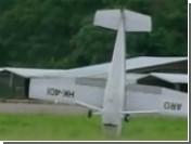 В Колумбии при посадке перевернулся самолет