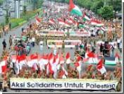 В Индонезии 20 тысяч мусульман приняли участие в антиизраильском митинге