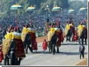 Слонов исключили из парада в Нью-Дели