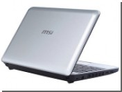 Гибридный нетбук MSI появится в продаже в феврале