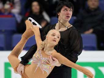 Российская пара захватила лидерство на чемпионате Европы по фигурному катанию