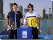 Федерер и Надаль провели матч на борту судна