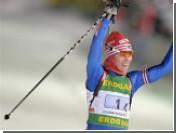 Ольга Медведцева стала призером гонки Кубка мира по биатлону