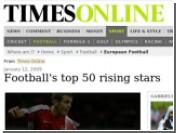 Вымышленный футболист попал в рейтинг The Times