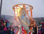 В Москве на Масленицу не будут сжигать чучело: чиновники боятся пожаров