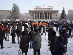 В Калининграде прошел массовый митинг протеста (ВИДЕО)