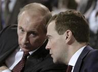"""Путин и Медведев поспорили о демократии / Состоялся """"беспрецедентно острый обмен мнениями"""""""