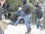 В Одессе символический суд над Ющенко и Бандерой обернулся дракой с украинскими националистами (ФОТО, ВИДЕО)