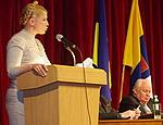 В Одессе Тимошенко пообещала разобраться с нападением на журналистов