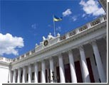 Сессия Одесского горсовета началась с нескольких акций и митингов