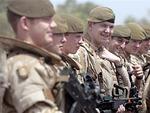 Каждый пятый британский пехотинец оказался небоеспособным