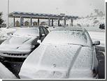 Главные дороги Португалии заблокированы из-за снегопадов