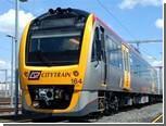 Австралиец попал в больницу после драки с поездом