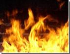 В Луганске до сих пор горит гофротарный комбинат