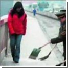 От рекордных морозов пострадали миллион китайцев