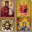 В туалете автозаправки нашли 27 православных икон