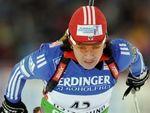 Российские биатлонистки провалили масс-старт в Рупольдинге