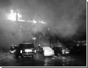 Взрыв и пожар произошли в торговом центре в Уфе