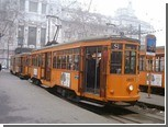 В Милане появилась сауна-трамвай