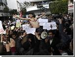 Штаб-квартиру партии президента Туниса защитили от толпы