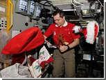 Обитатели МКС встретили Новый год несколько раз