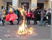 """Студенты Приднестровского госуниверситета отметили Татьянин распитием """"Гагаринского напитка"""" и сжиганием чучела сессии"""