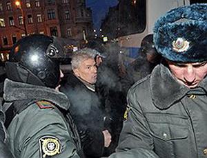 В Москве в ходе акции протеста задержано около 50 человек / Акция на Триумфальной была немногочисленна