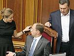 """Партия регионов рекламирует новых """"оппозиционеров"""": Яценюка и Королевскую"""
