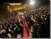 На демонстрацию в Венгрии вышли 100 тысяч человек