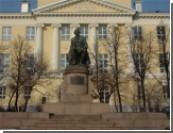 МГУ встречает президента: люстры отмыли, шторы постирали / Медведев пообещал студентам, что революции не будет