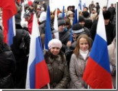 """Лозунг """"Россия для русских"""" поддерживают до 60 процентов жителей РФ"""