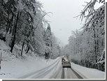Запад Австрии заблокирован из-за сильных снегопадов