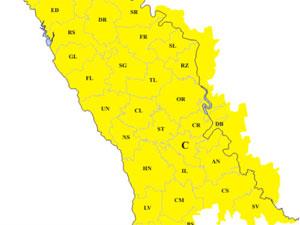 В Молдове температура воздуха опустится до -24 градусов