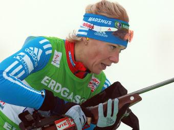 Российские биатлонистки остались без медалей в масс-старте на этапе Кубка мира