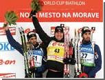 Российские биатлонисты не смогли завоевать медали в спринте