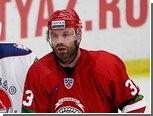 """КХЛ сняла с хоккеиста """"Витязя"""" дисквалификацию до конца сезона"""