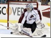 Российский вратарь Семен Варламов отразил три буллита в матче НХЛ