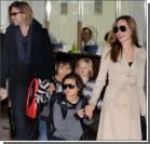 Дети Питта и Джоли вызвали полицию с вертолетом