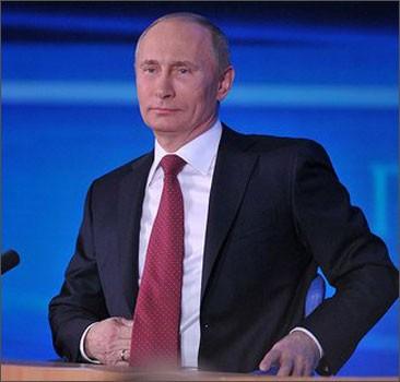 Путин назван самым влиятельным политиком мира. Список