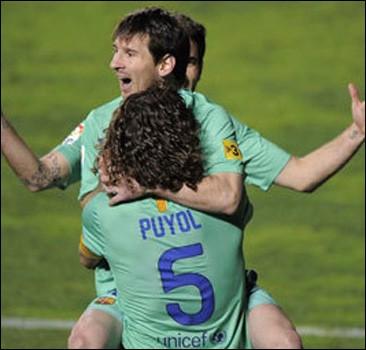 Месси - лучший футболист года в Испании