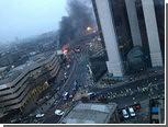 В центре Лондона вертолет врезался в строительный кран
